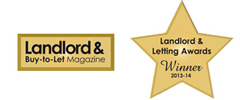 Winner - Landlord and Letting Awards 2013-14
